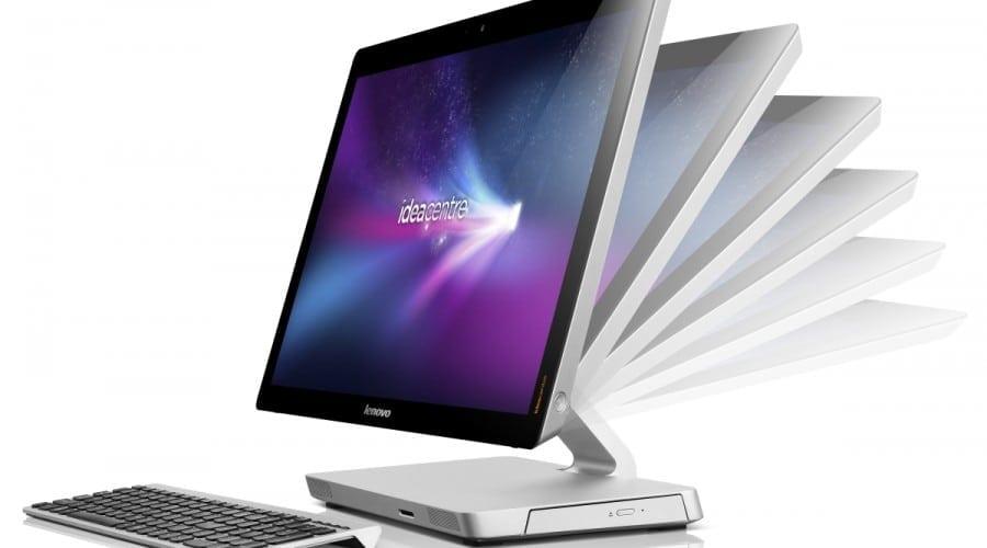 Lenovo IdeaCenter A520: AIO cu display Full HD tactil de 23 inchi