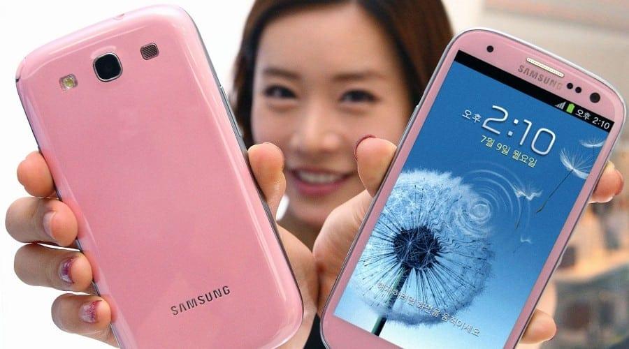 Samsung Galaxy S III este disponibil acum si in culoarea roz