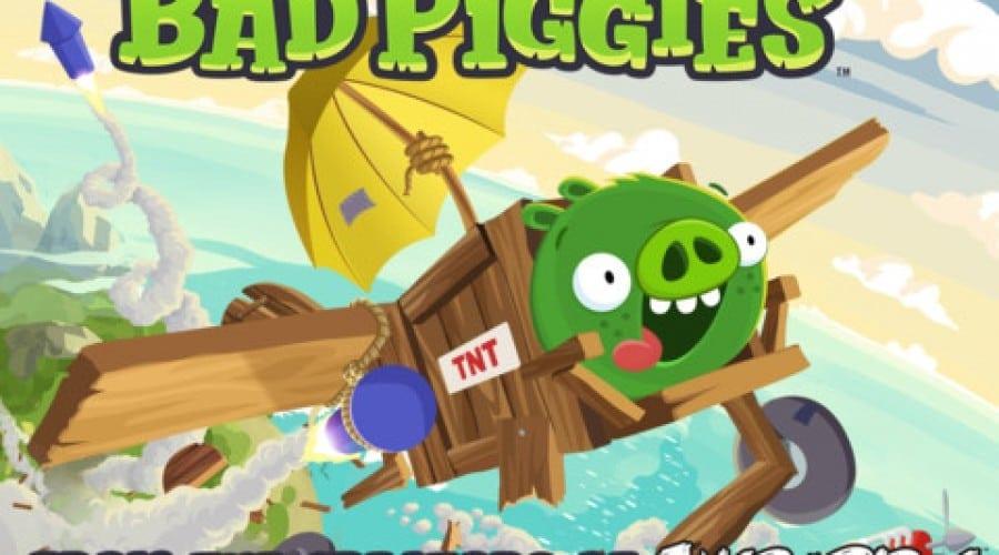Bad Piggies e disponibil acum pe iOS şi Android