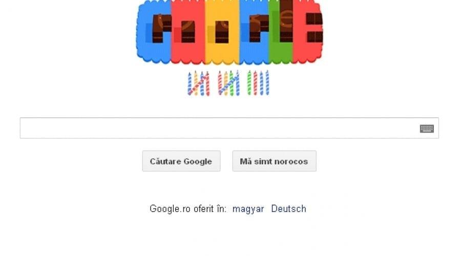 Google împlineşte 14 ani