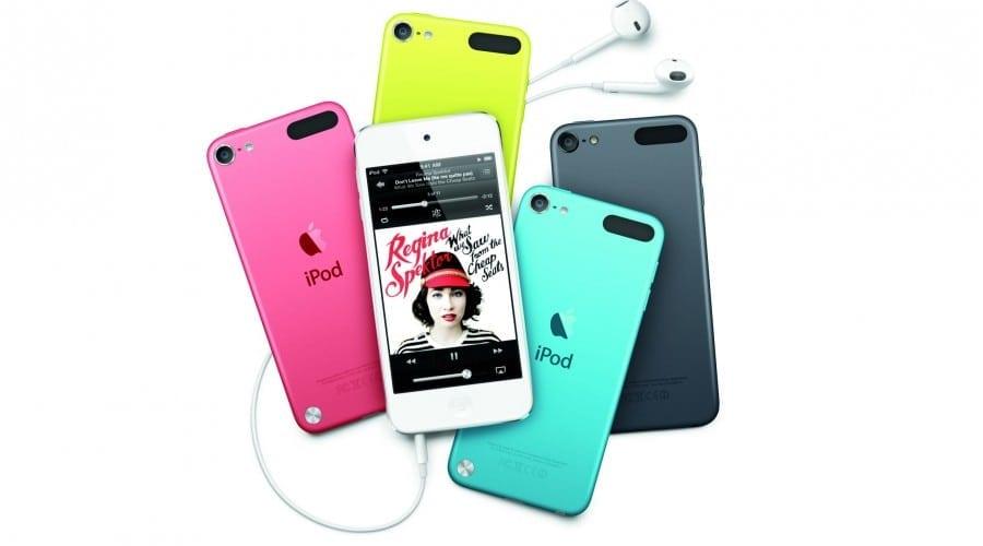 iPod Touch: Cameră de 5 megapixeli, un design nou şi EarPods