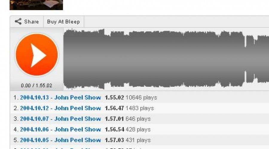 Colecţia John Peel: Peste 400 de emisiuni radio sunt disponibile acum pe Soundcloud