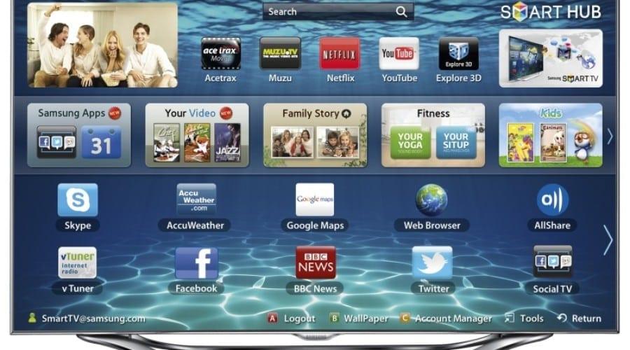Voyo.ro sosete pe Samsung Smart TV cu peste 500 filme, seriale si emisiuni