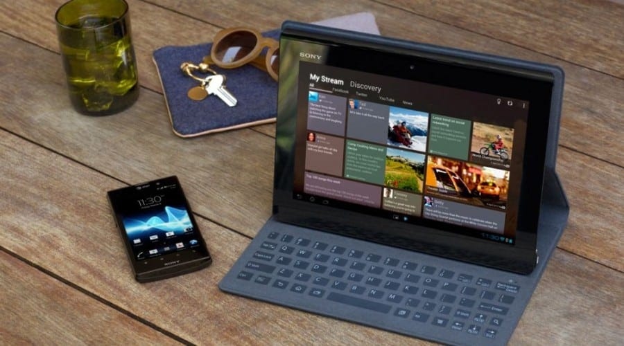 Sony Xperia Tablet S: Lansare in Romania