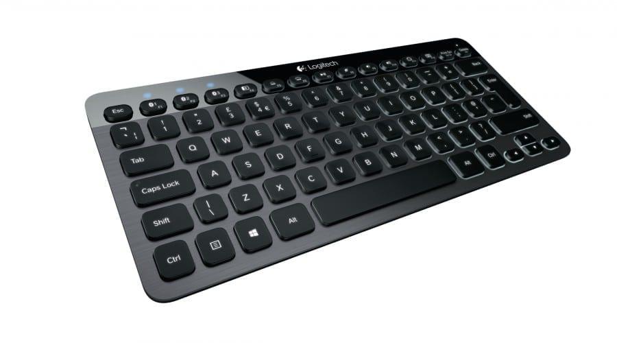 Logitech Bluetooth Illuminated Keyboard K810: Tastatură cu Bluetooth pentru Windows 8