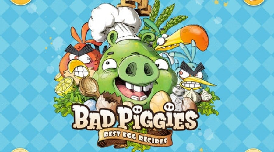 Bad Piggies: Găteşte cele mai bune preparate din ouă cu noua carte de bucate de la Rovio