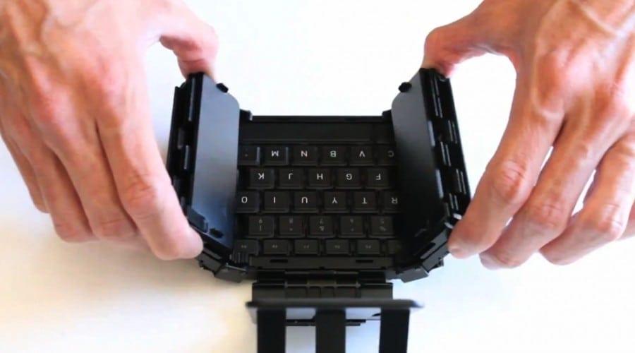 Jorno Bluetooth Keyboard: Împachetează tastatura şi poart-o-n buzunar