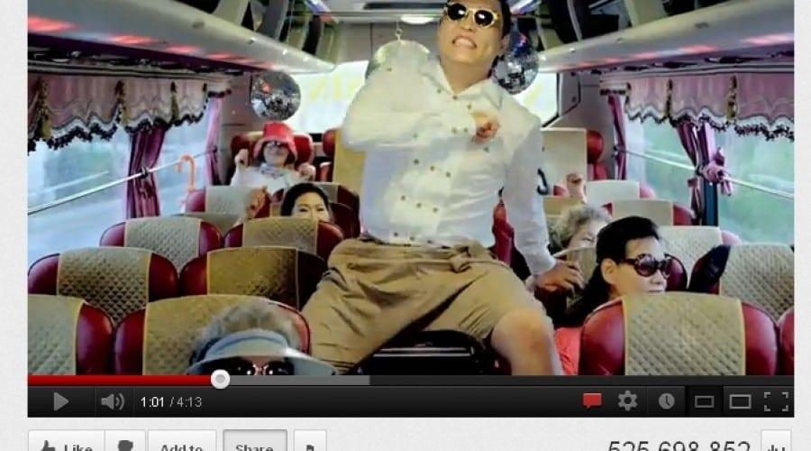 Gangnam Style: Peste 500 de milioane de vizualizări pe Youtube