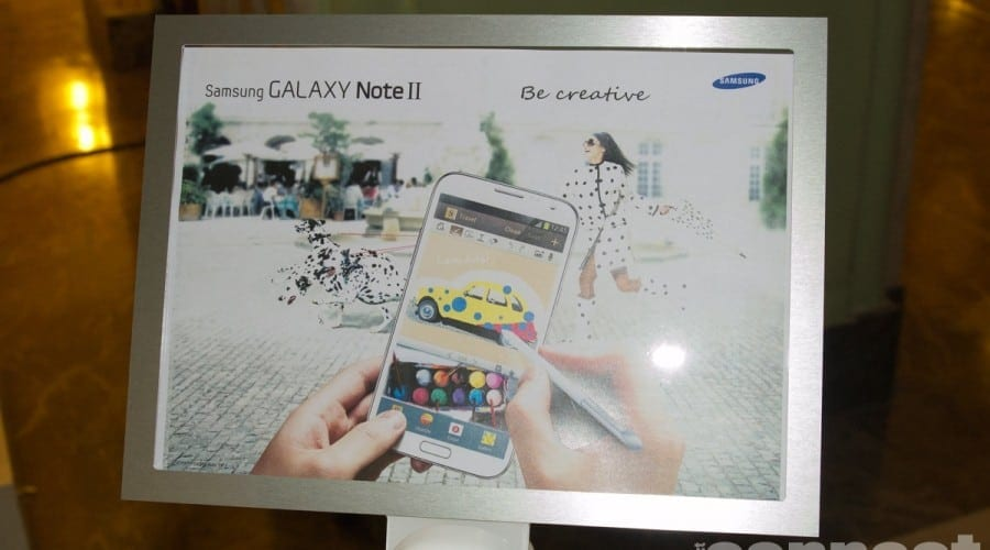 Samsung Galaxy Note II ajunge oficial in Romania