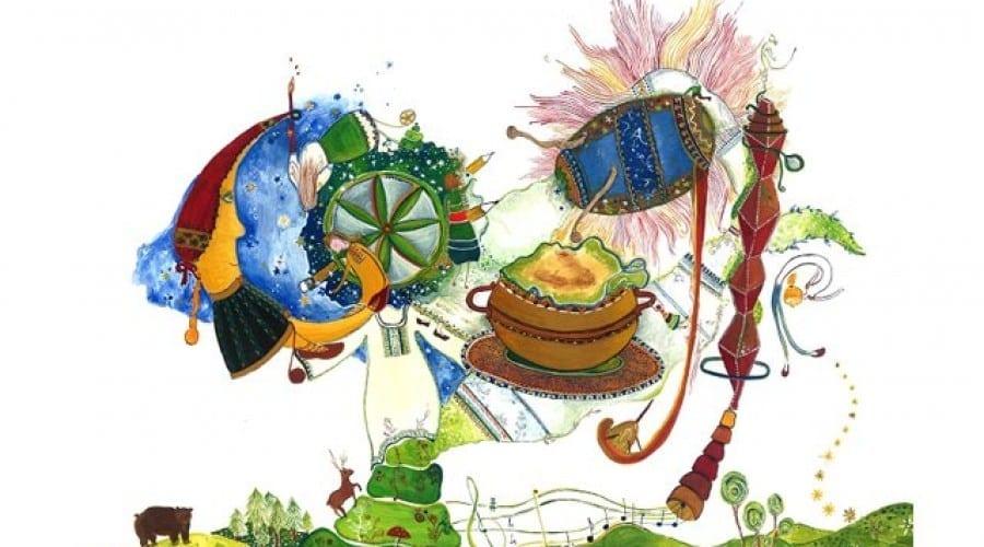 Logo-ul câştigător la Doodle 4 Google, realizat de o elevă din Suceava