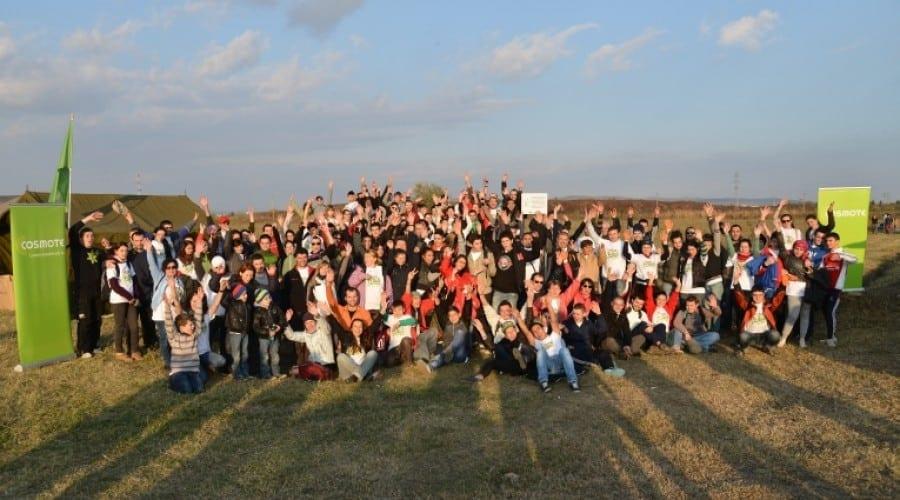 Cosmote România a plantat în weekend, alături de o echipă de voluntari, aproximativ 7.000 de pomi