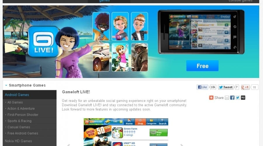 Jocuri din oferta Gameloft, disponibile acum pe terminalele Allview