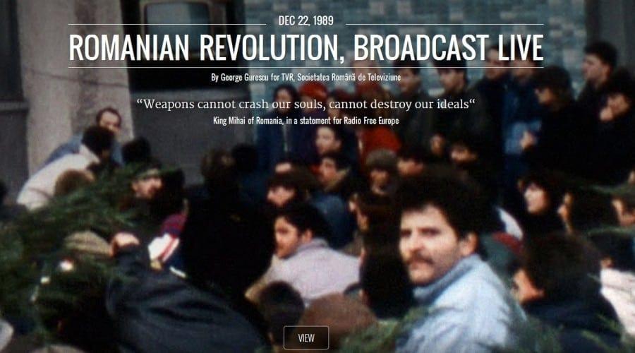 Căderea Cortinei de Fier: Expoziţie on-line pe Google Cultural Institute despre revoluţia din 1989