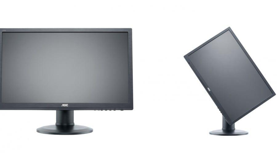 AOC e2460Phu şi m2460Phu: Monitoare ergonomice pentru profesionişti şi nu numai