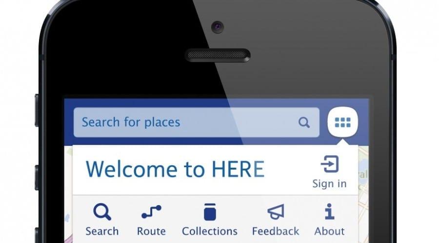 Nokia HERE: O nouă aplicaţie de hărţi se lansează pentru iOS