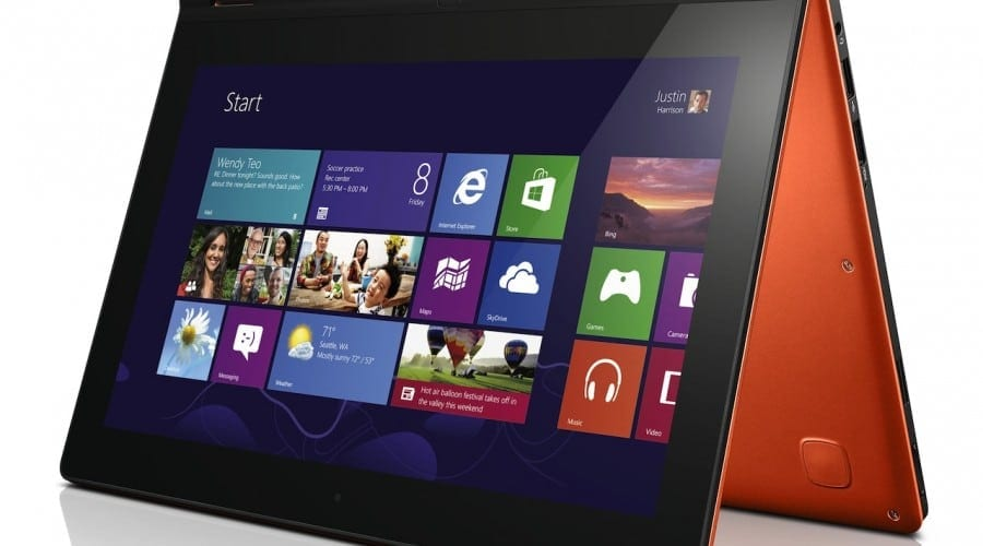 Lenovo lanseaza in Romania noile convertibile cu Windows 8: IdeaPad Yoga si ThinkPad Twist