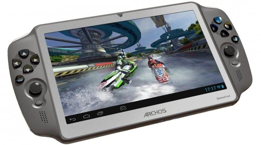 Archos Gamepad: Consolă-tabletă de gaming cu Android, la 149 euro