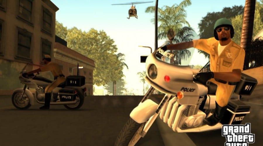 GTA San Andreas, de azi pe PS3
