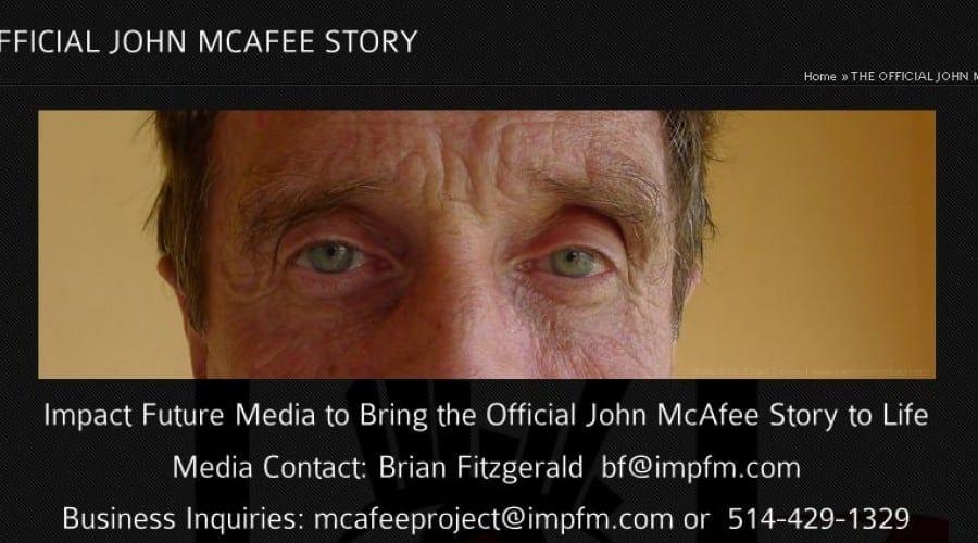 Viaţa lui John McAfee, în curând pe ecrane