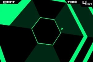 Super Hexagon, disponibil pentru Android