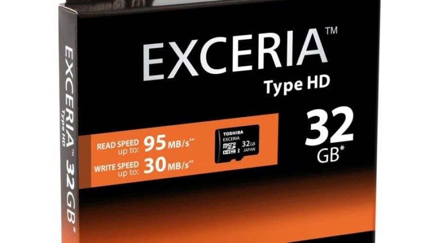 Toshiba Exceria – Carduri microSD de mare viteză