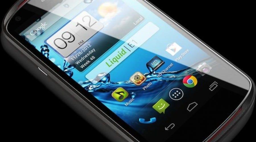 Acer Liquid E1: Display de 4.5 inchi şi cel mai probabil, un preţ accesibil