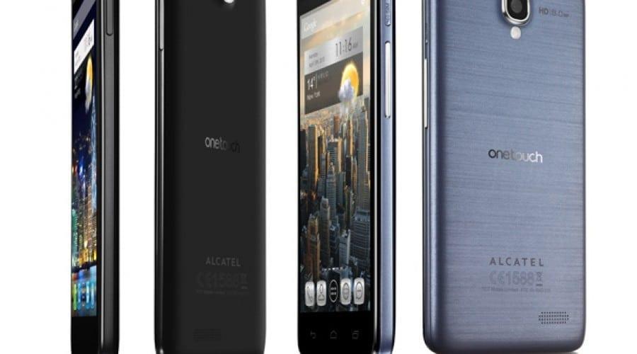 CES 2013: Alcatel prezinta phablet-uri si cel mai subtire smartphone de pe piata
