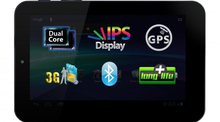Allview AX1 Shine: Ecran IPS LCD de 7 inchi, 3G și procesor dual core