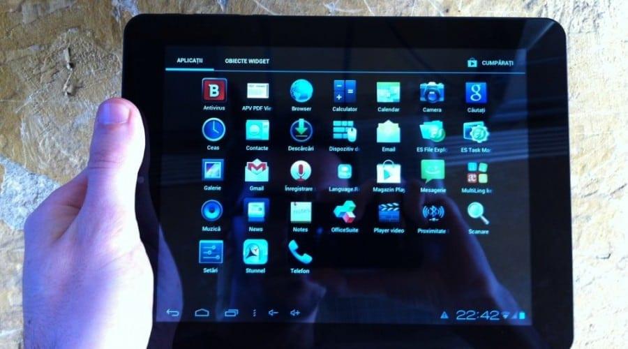 Allview TX1 Quasar: Ecran IPS de 8″, 3G, procesor dual core şi Android 4.0.4