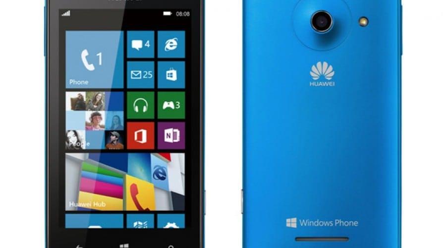 Huawei lanseaza primul smartphone cu Windows Phone 8, Ascend W1