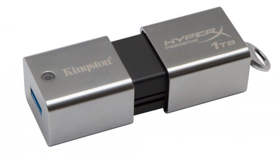 Cine are nevoie de un HDD? Kingston anunta la CES un stick cu capacitate de stocare de 1 TB