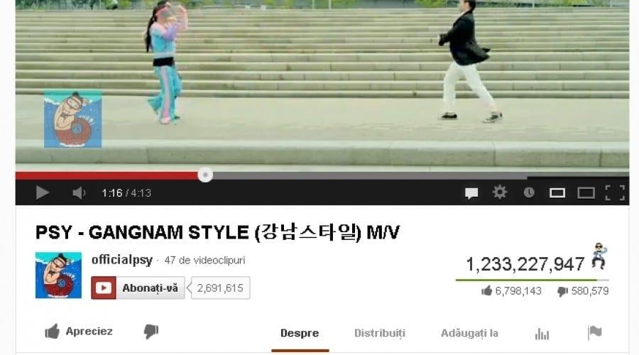 Google a câştigat 4 milioane de dolari din Gangnam Style