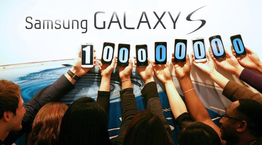 Samsung: Vânzări de peste 100 de milioane de smartphone-uri din gama Galaxy S