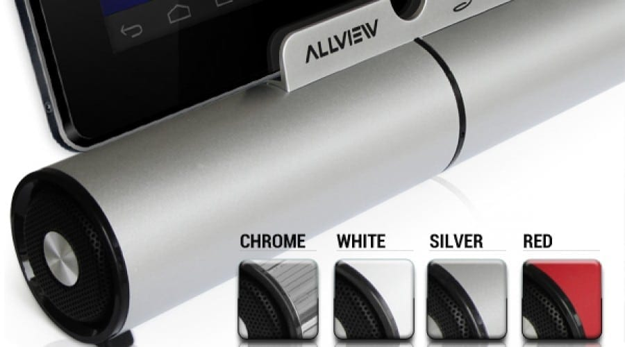 Difuzoare Bluetooth de la Allview – S-Bass și S-Tube