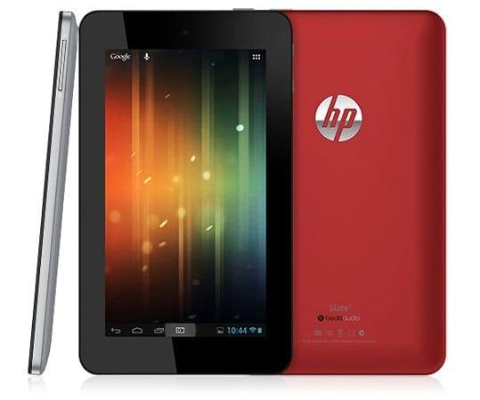 Slate 7, prima tableta HP cu Android, va ajunge oficial in Romania incepand de la sfarsitul lunii iulie