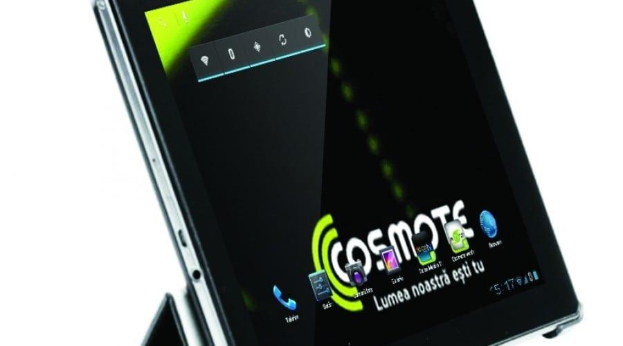 Cosmote MyTab: Cameră de 5 megapixeli, ecran de 9.7 inchi şi procesor dual-core