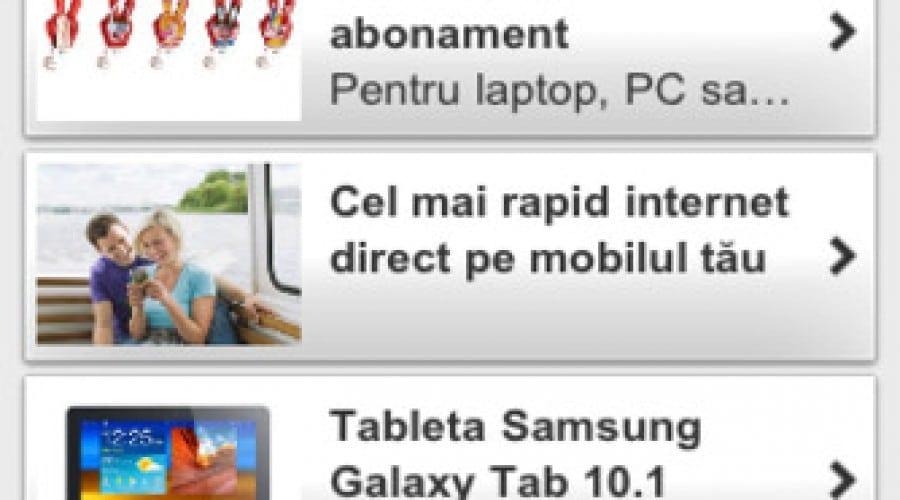 Vodafone Prepaid: Reîncărcare direct din aplicaţia My Vodafone