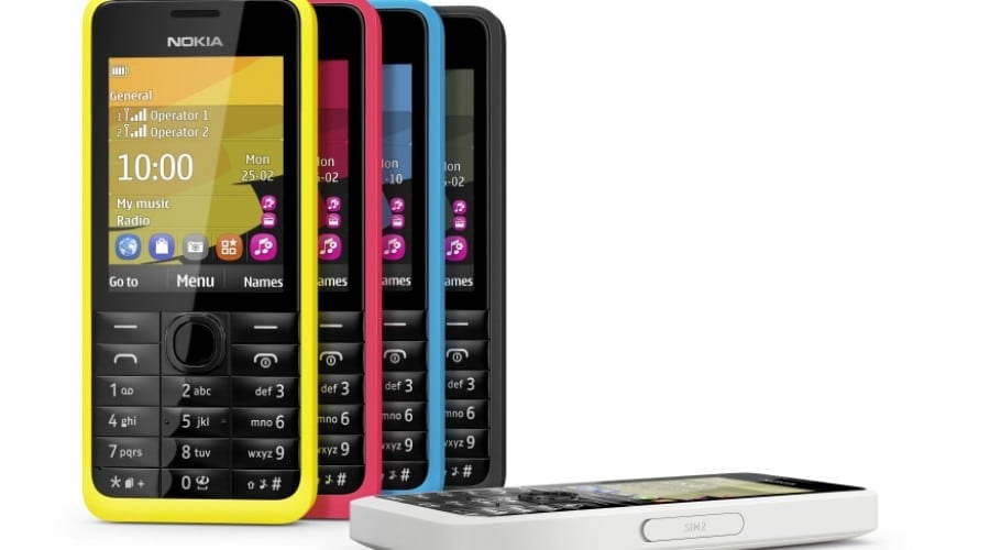 Nokia 105 şi 301: Telefoane mobile clasice cu design modern