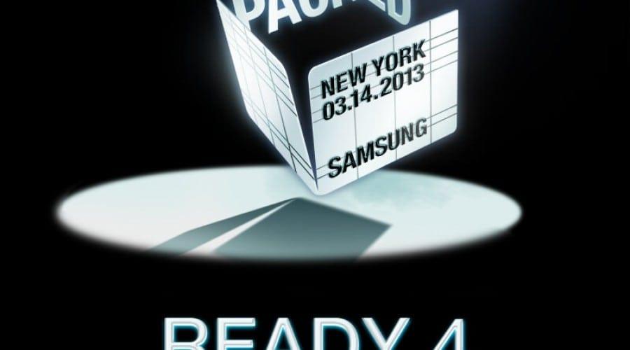 Samsung Galaxy S IV: Lansare pe 14 martie