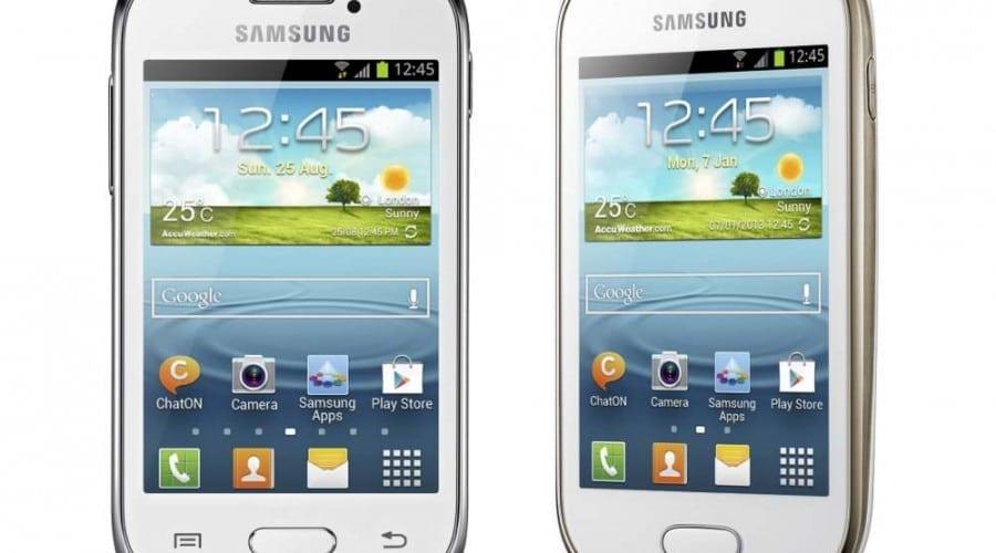 Samsung Galaxy Fame și Galaxy Young: Ecrane sub 4 inchi și Android 4.1