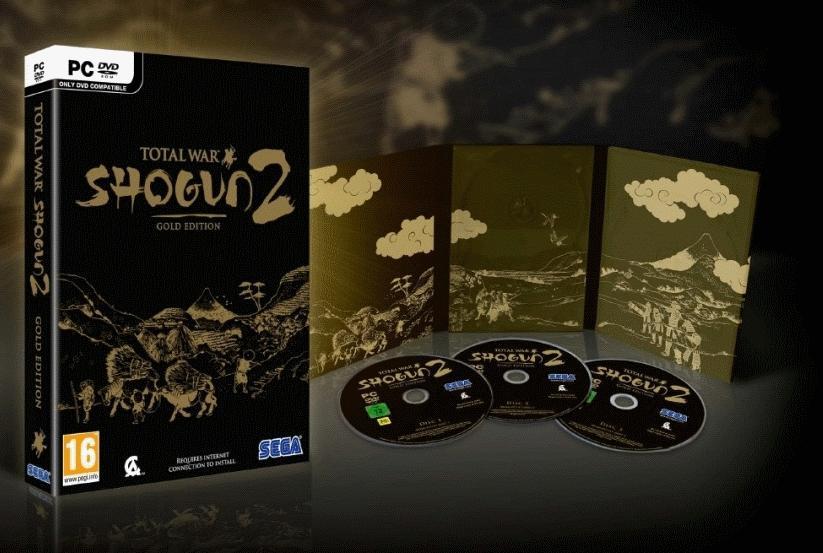Total War SHOGUN 2 gold edition