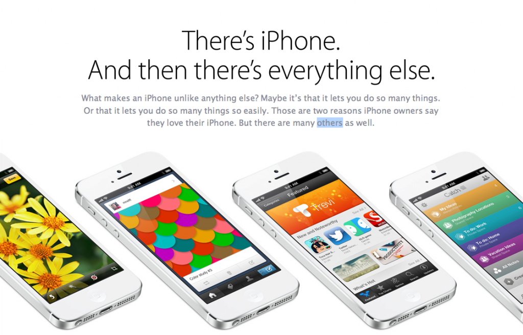 campanie iphone 5