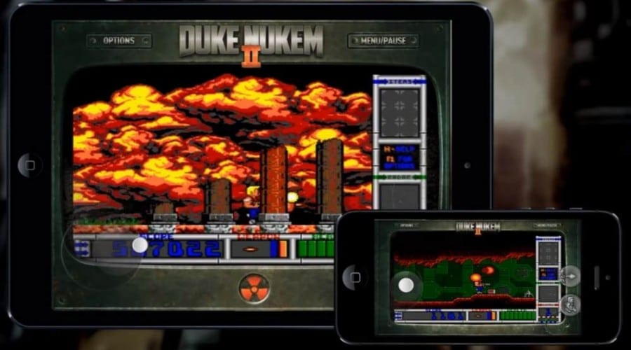 Duken Nukem II, din aprilie pe iPhone și iPad