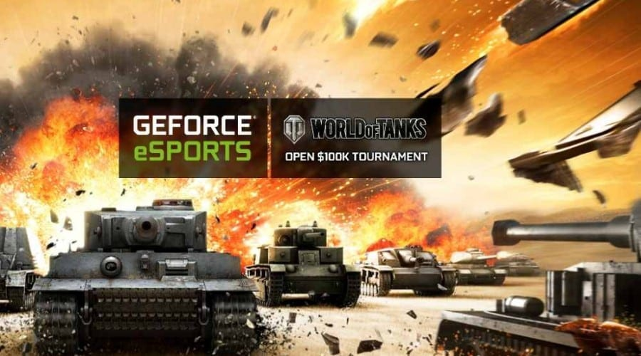 Câștigă plăci video GeForce și 100.000$ cu Nvidia și World of Tanks