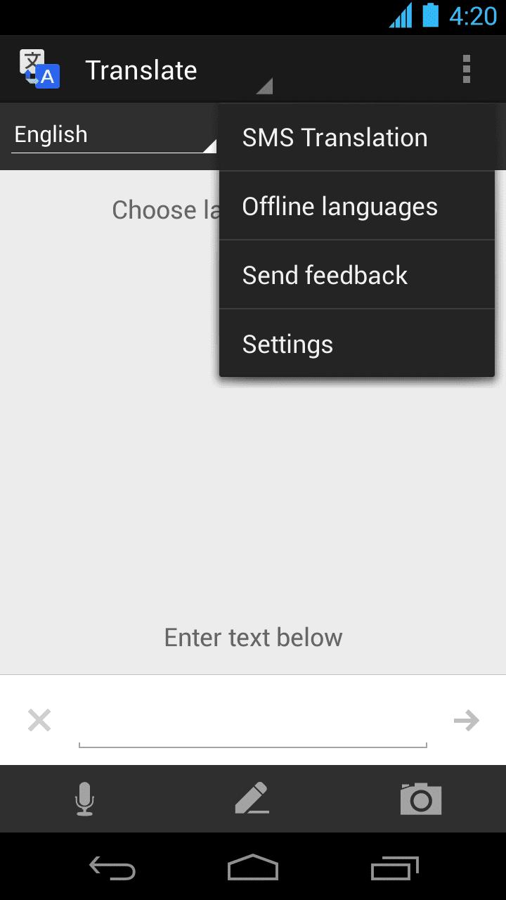 google translate offline Google Translate pentru Android: Traducere offline