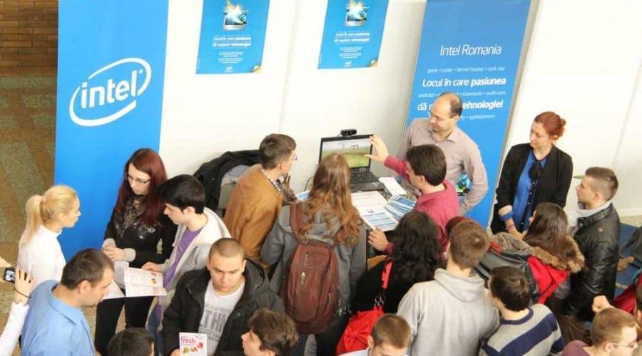 Nouă poziții de stagiar pentru studenți, în cadrul Intel Romania Software Development Center