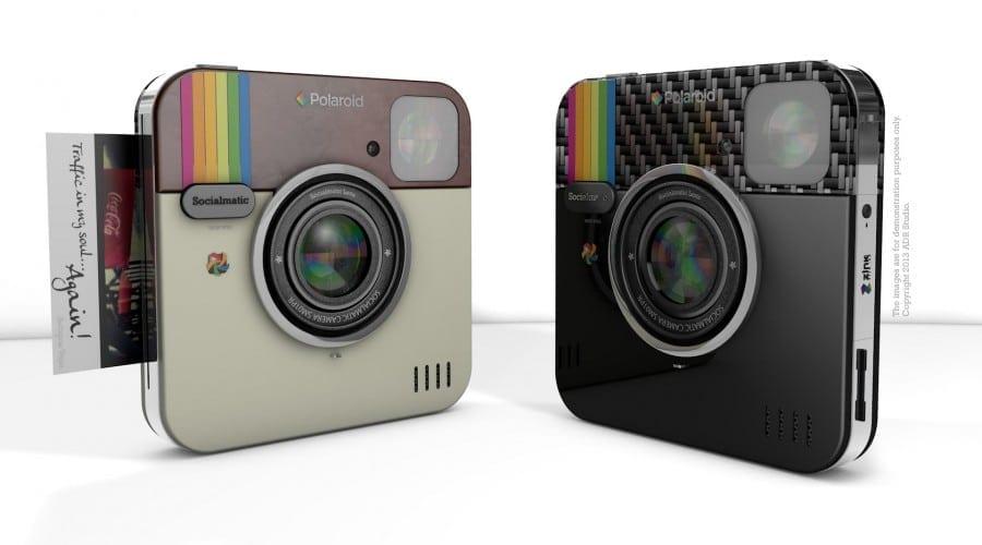 Socialmatic va lansa o cameră foto instant cu design inspirat din Instagram