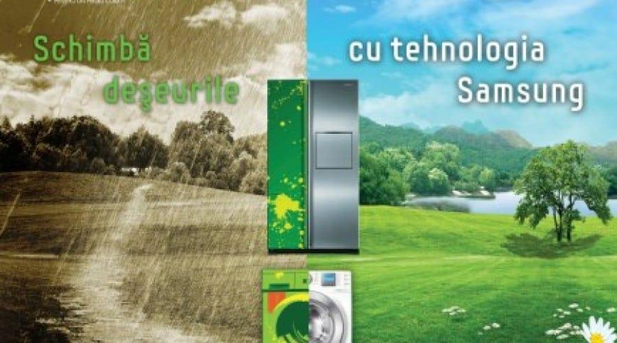 Schimba deseurile cu tehnologia Samsung – Editia cu numarul 3 are loc in Bucuresti si Cluj