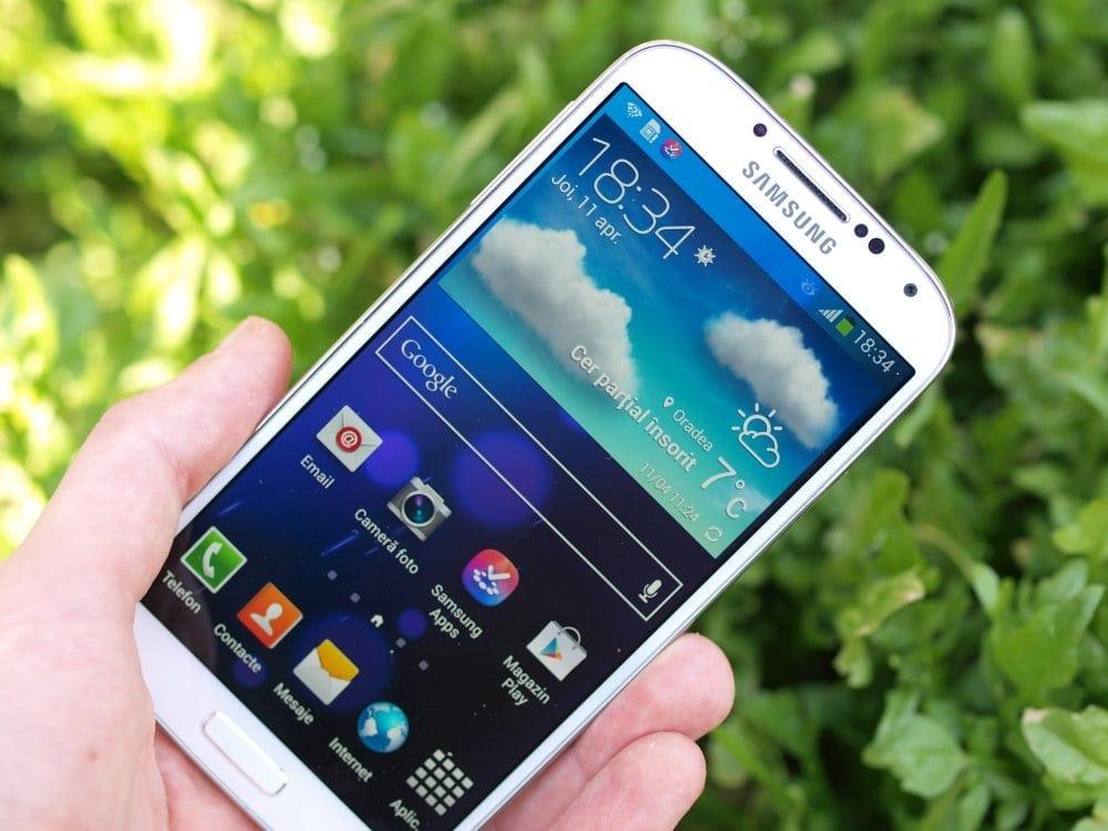 Samsung Galaxy S4 review:  Avem un nou rege