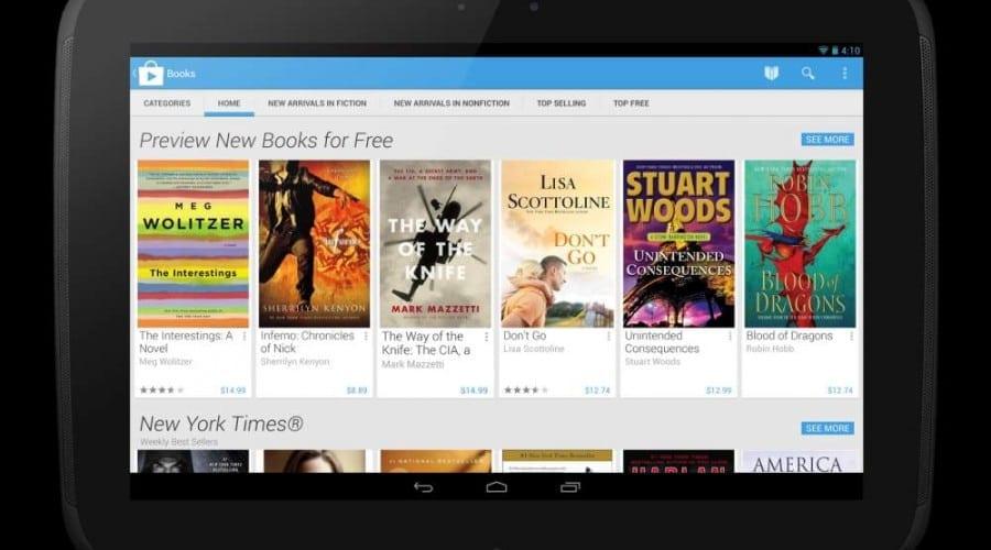 Google Play are un nou look inspirat de Google Now